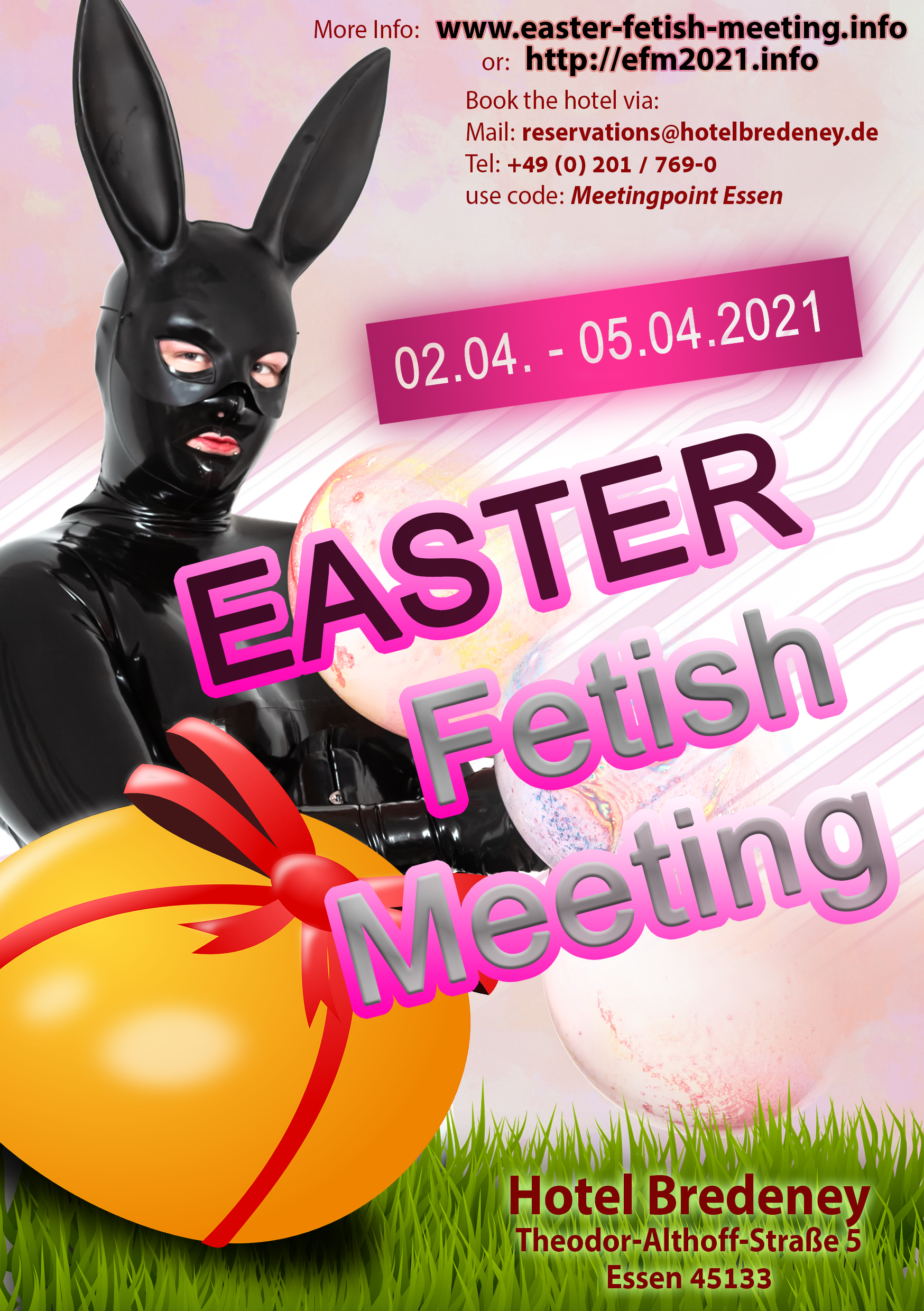 Easter Fetish Meeting 2021 - Bunny